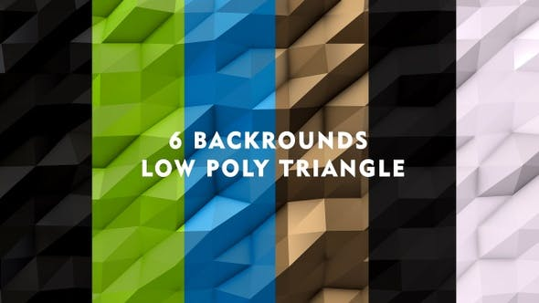 Pack Low Poly Background by studiodav | VideoHive