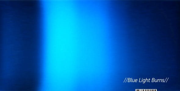 Blue Light Burn Clips by automaton | VideoHive