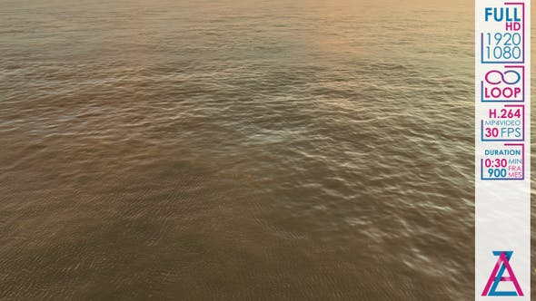 Yellow Waves In The Ocean by Andrew_Zyrin | VideoHive