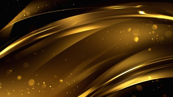 Elegant Gold Background 4 By BiscuitFactory | VideoHive