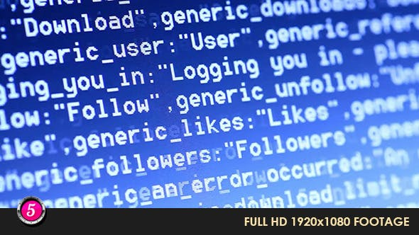 Computer HTML Codes 16 by motion5 | VideoHive