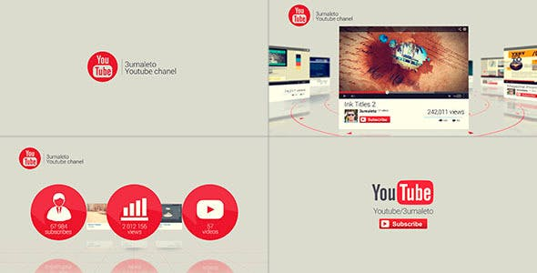 My Youtube and Vimeo Channel by MotionMediaGroup | VideoHive