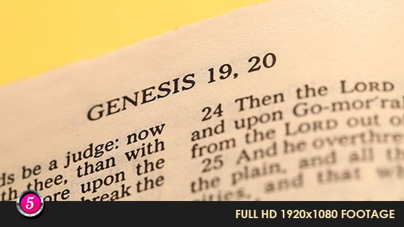Old Holy Bible 20 by motion5   VideoHive