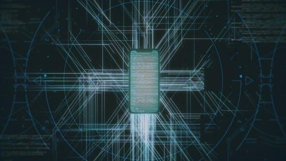 Hi-Tech Smartphone Background Full HD by rodionova | VideoHive
