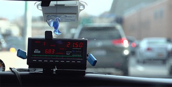 New York City Taxi Meter by FullyStacked | VideoHive