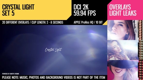 Crystal Light (2K Set 5) by Dyomin | VideoHive