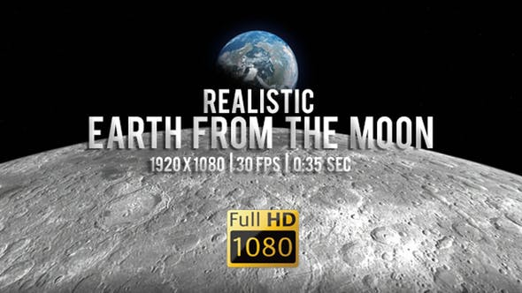 Earthrise - Planet Earth Seen From The Moon by