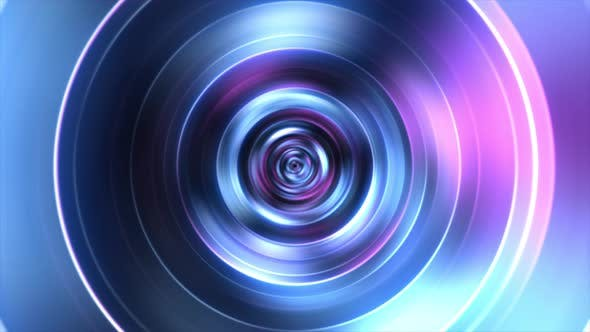 Abstract Blurry Tunnel Loop 4k By Prerender Videohive