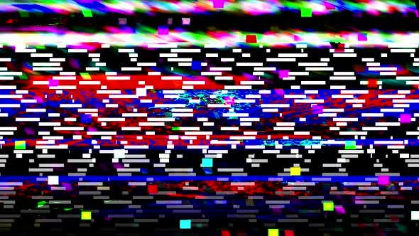 Glitch TV Static Noise by DelaiVeter | VideoHive