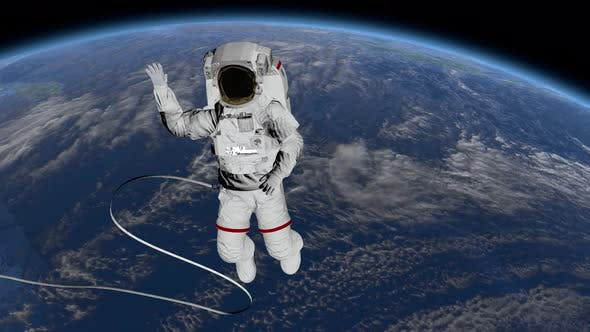 Image result for waving from space