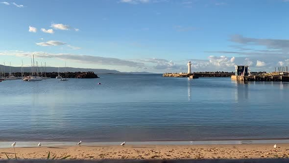 Wollongong Harbour Timelapse by rosst400 | VideoHive