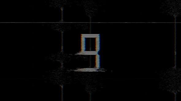 Glitch Countdown 4K Overlay by kovasdos | VideoHive