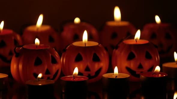 Halloween Candles by pe4511261 | VideoHive