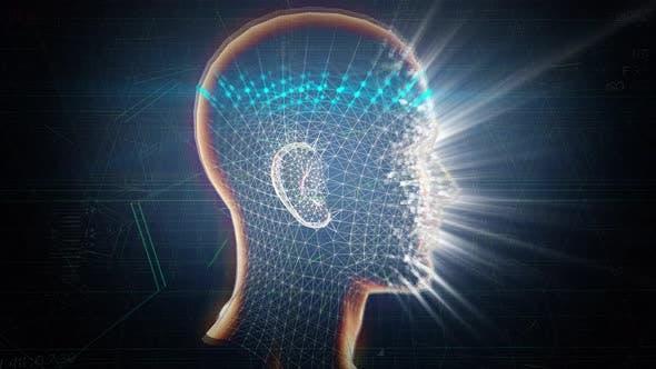 4K AI 3D Biometric Face Id Scanning Technology Seamless Loop