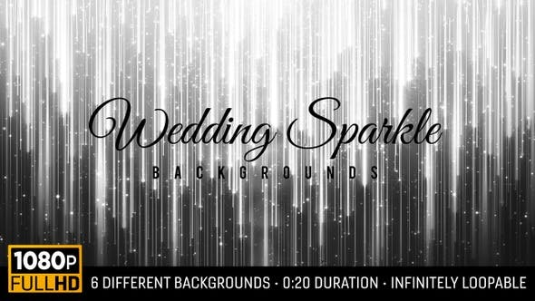 Wedding Sparkle Backgrounds Hd 6 Pack By