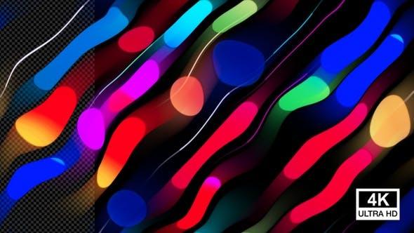 Colorful Wavy Lines Background 4K V2 by VIDEOPILOT_pro