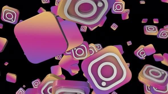 Instagram Social Icon Loop by botiordog | VideoHive